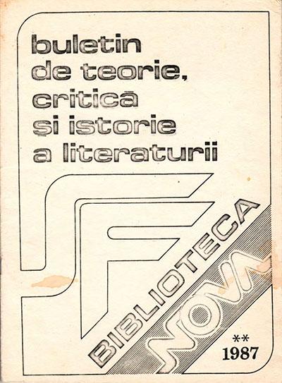 Biblioteca Nova 2/1987
