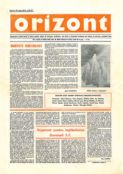 Orizont nr. 6/1981