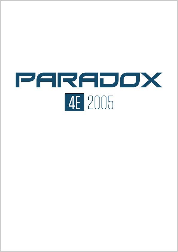Paradox nr. 4E/2005