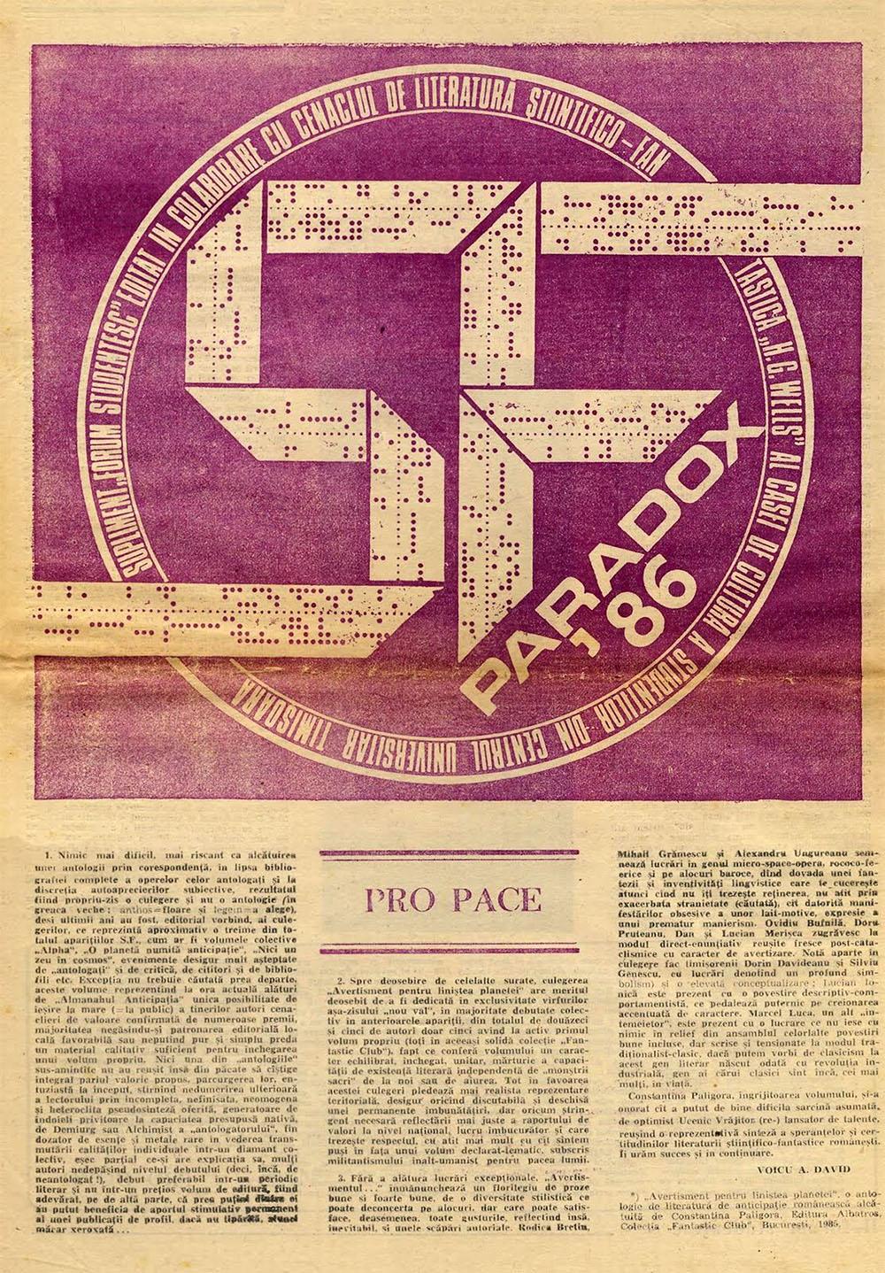 Paradox nr. 11/1986