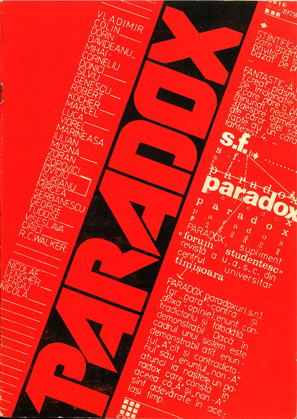 Paradox nr. 3/1978