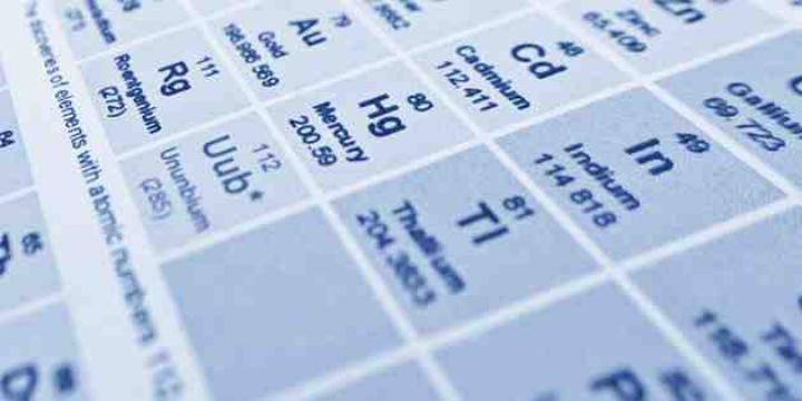 Patru noi elemente în tabelul periodic
